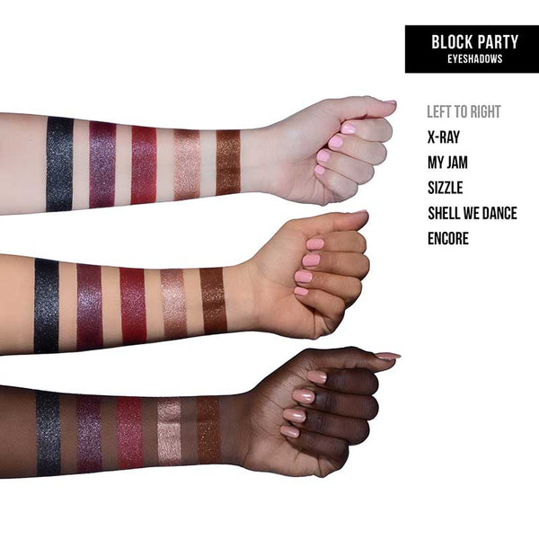 Dose of Colors Block Party Single Eyeshadow Swatches