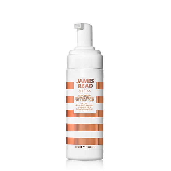 James Read Fool Proof Bronzing Mousse Face & Body - Dark