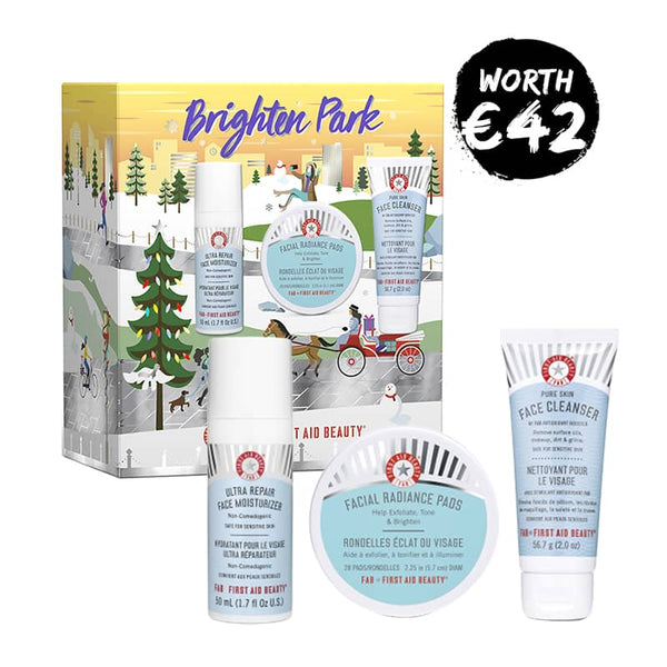 First Aid Beauty Brighten Park Gift Set | First Aid Beauty Gift Set | Christmas 2019