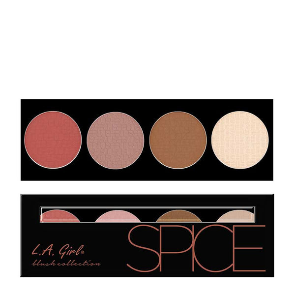 LA Girl Beauty Brick Blush Collection - Spice