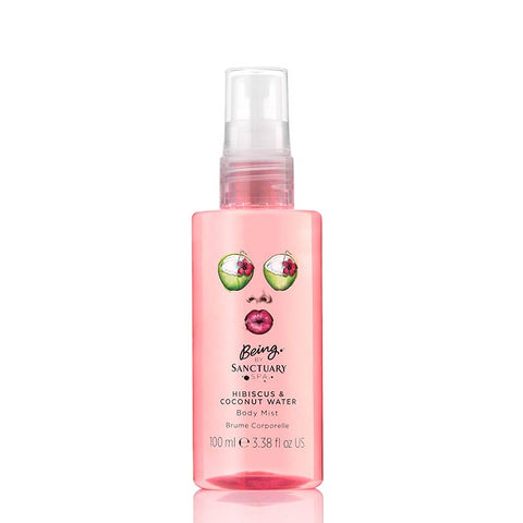 Being by Sanctuary Hibiscus & Coconut Water Body Mist