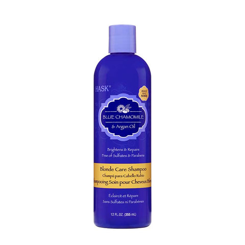 HASK Blue Chamomile & Argan Oil Blonde Care Shampoo
