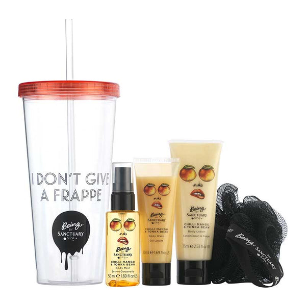 Being by Sanctuary I Don't Give A Frappe Gift Set