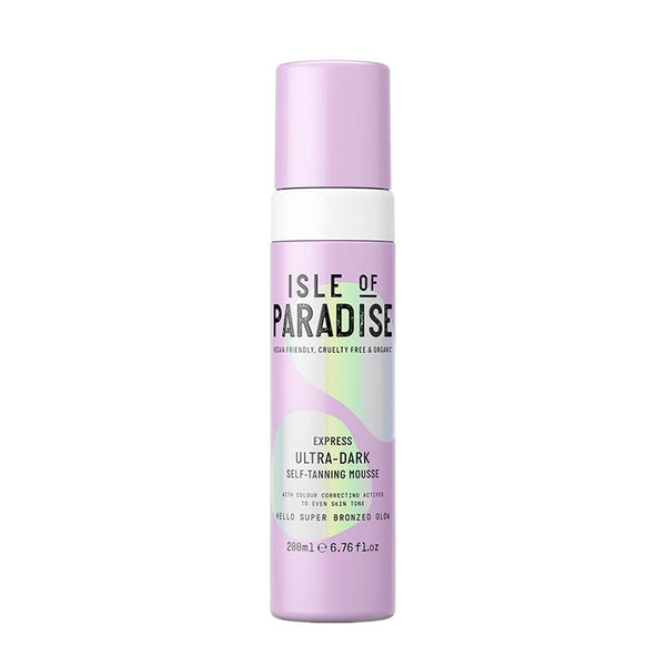 Isle of Paradise Express Ultra Dark Self-Tanning Mousse