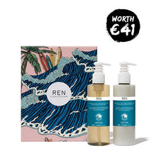 REN Atlantic Kelp & Magnesium Hand Duo Gift Set | REN Christmas Gift Set