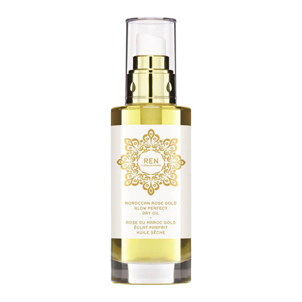 The REN Moroccan Rose Gold Glow Perfect Dry Oil