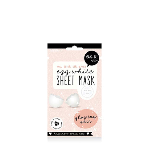 Oh K! Egg White Sheet Mask