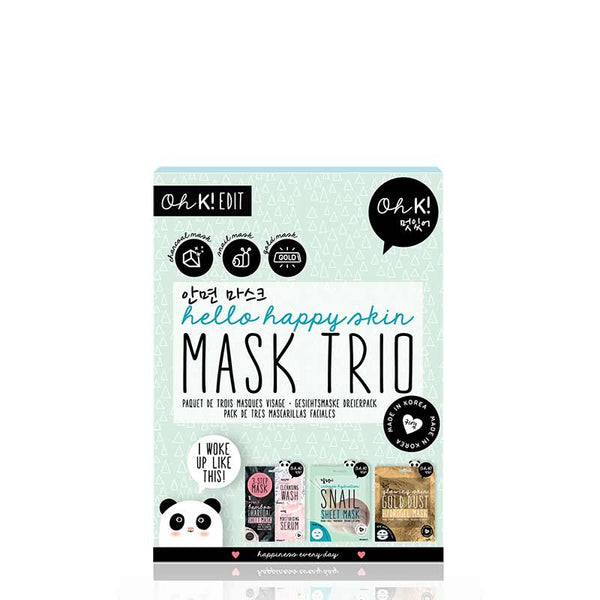 Oh K! Hello Happy Skin Mask Trio