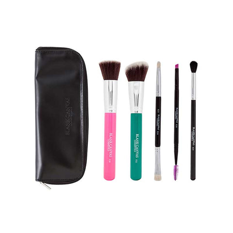 Blank Canvas 5 Piece Set #1 With Travel Case