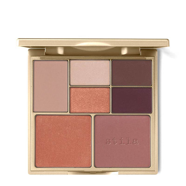Stila Perfect Me, Perfect Hue Eye and Cheek Palette Medium-Tan