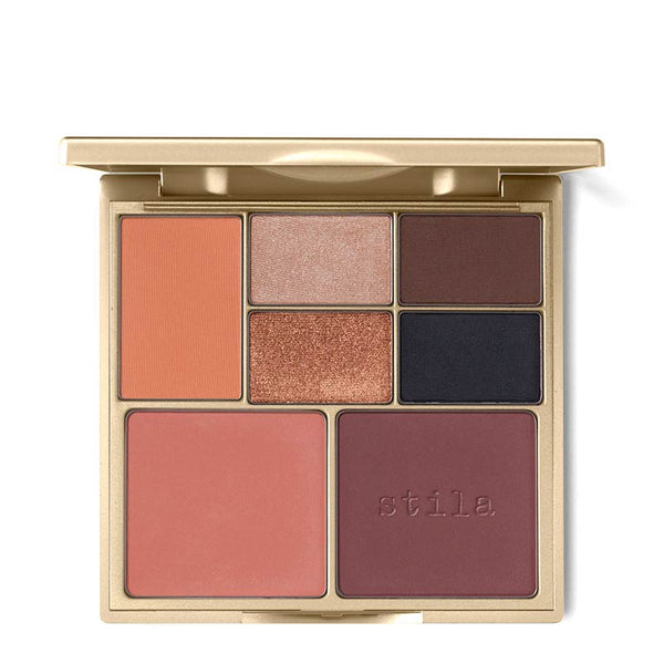 Stila Perfect Me, Perfect Hue Eye and Cheek Palette Tan-Deep