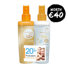 Bioderma Photoderm MAX Spray SPF50+ with Photoderm KID SPF50+