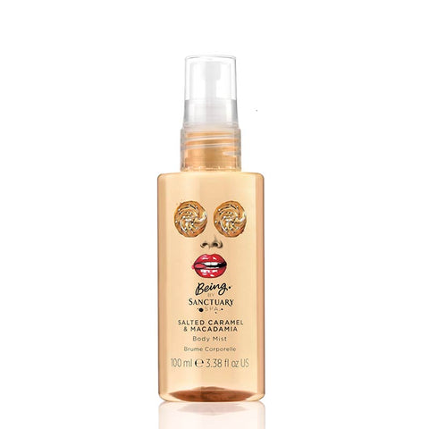 Being by Sanctuary Salted Caramel & Macadamia Body Mist