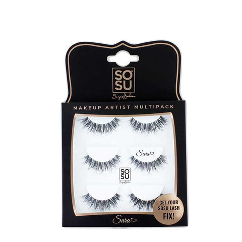 SOSU by Suzanne Jackson Multipack Lashes - Sara