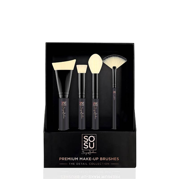 SOSU by Suzanne Jackson The Detail Collection 4 Piece Brush Set
