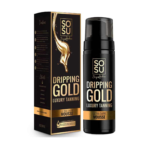 SOSU by Suzanne Jackson Dripping Gold Luxury Tanning Mousse - Ultra Dark