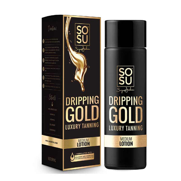 SOSU by Suzanne Jackson Dripping Gold Luxury Tanning Lotion - Medium