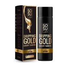 SOSU by Suzanne Jackson Dripping Gold Luxury Tanning Lotion - Dark