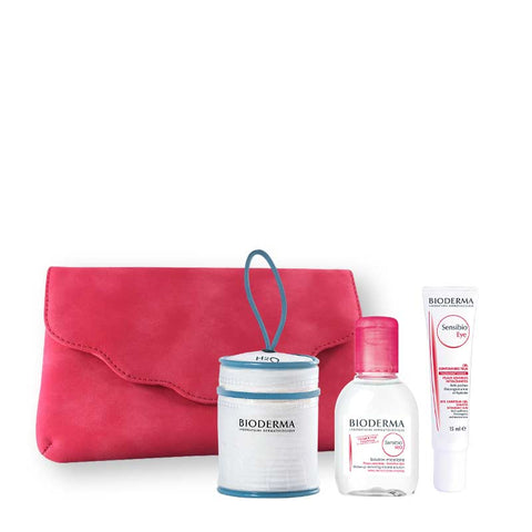 Bioderma Sensitive Eye Set - Sensibio Eye Cream + Sensibio H2O 100ml