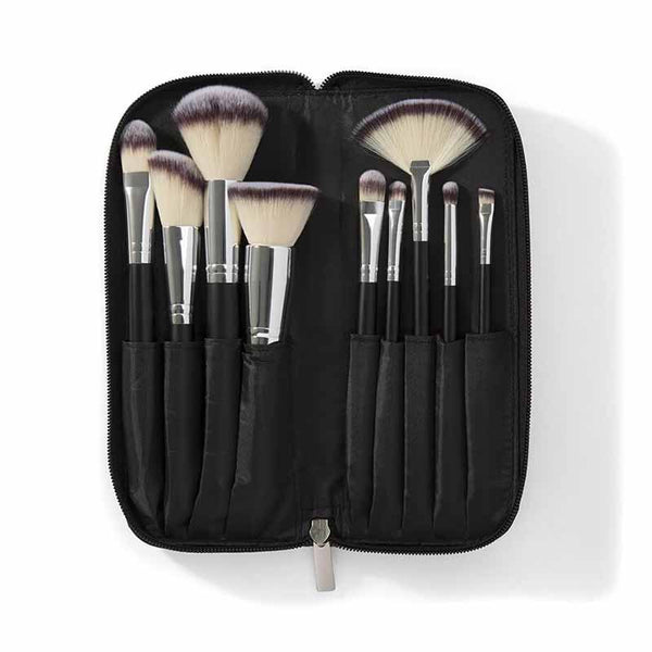 Morphe Set 502 - 9 Piece Deluxe Vegan Brush Set