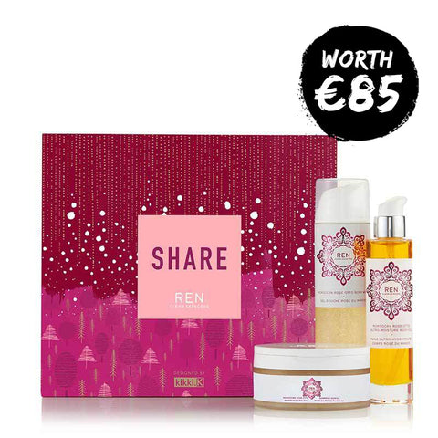 REN Share Gift Set - Moroccan Rose