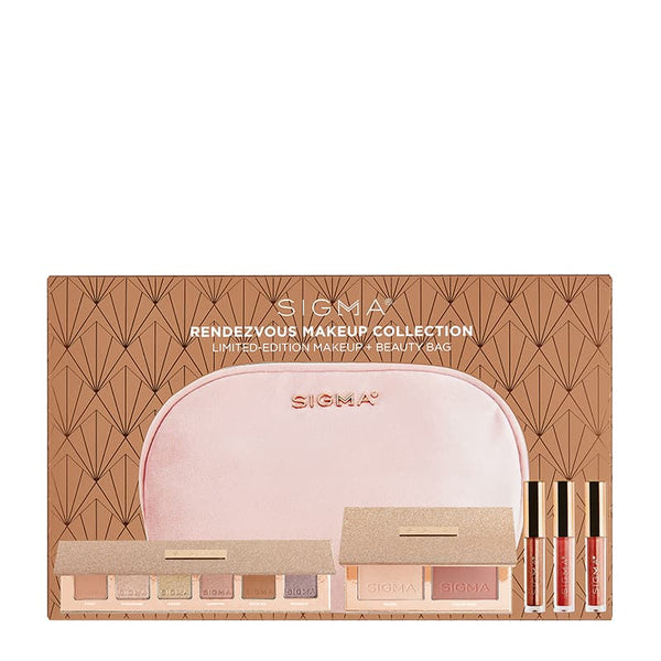Sigma Beauty Rendezvous Makeup Collection Gift Set