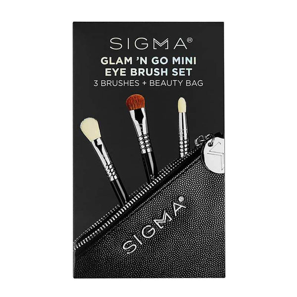 Sigma Beauty Glam 'n Go Mini Eye Brush Set | Sigma Eye Brush Set
