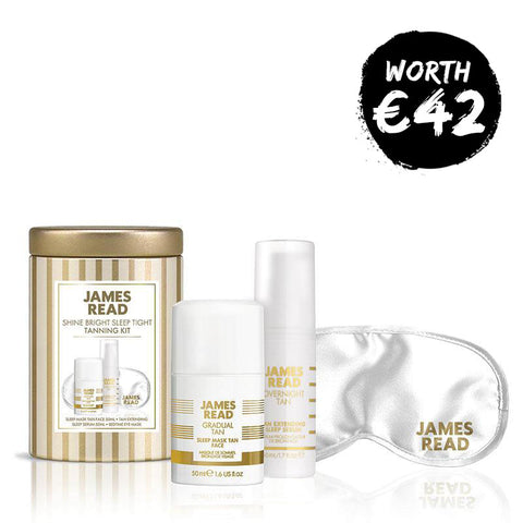 James Read Tan Sleep Tight Shine Bright Tanning Kit