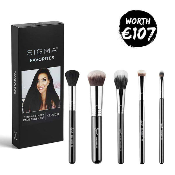 Sigma x Stephanie Lange Face Brush Set | Vegan Makeup Brushes