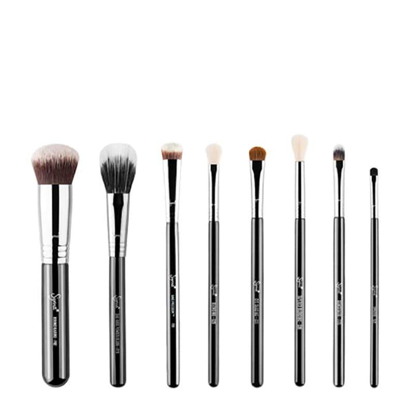 Sigma Beauty x Stephanie Lange Face + Eyes Brush Set | Vegan Brush Set