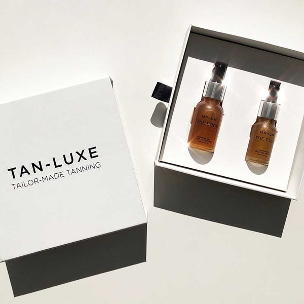 TAN-LUXE The Glow Edit Gift Set - Light/Medium