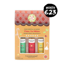 Tisserand Time To Shine Roller Ball Kit  worth €22.50 | Gift Set | Christmas 2019