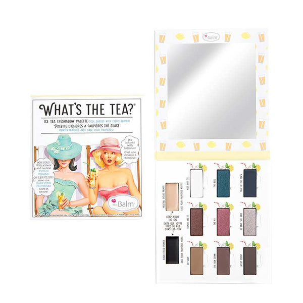 theBalm What's the Tea? Ice Tea Eyeshadow Palette