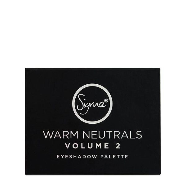 Warm Neutrals Volume 2 Eyeshadow Palette Front