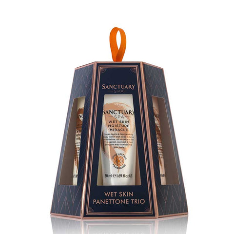 Sanctuary Wet Skin Panettone Trio Gift Set