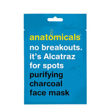 Anatomicals No Breakouts It's Alcatraz for Spots Purifying Charcoal Face Mask