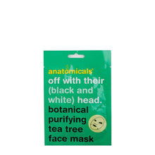 Anatomicals Off With Their (Black & White) Head Botanical Purifying Tea Tree Face Mask