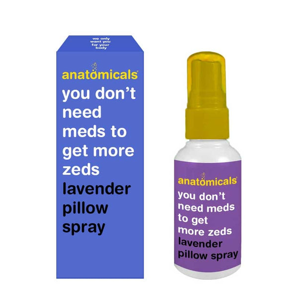 Anatomicals You Don't Need Meds To Get More Zeds Lavender Pillow Spray