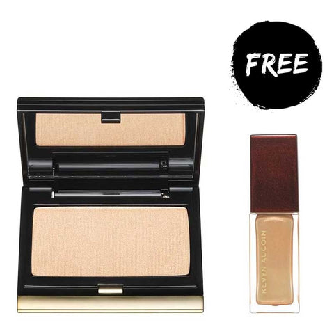 Kevyn Aucoin The Candlelight Duo - The Candlelight Celestial Powder with FREE The Candelight Lip Gloss