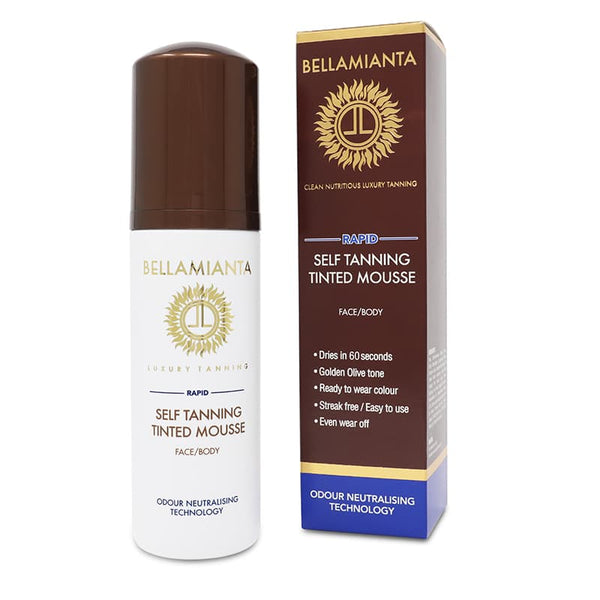 Bellamianta Rapid Self Tanning Tinted Mousse | Bellamianta Rapid Mousse