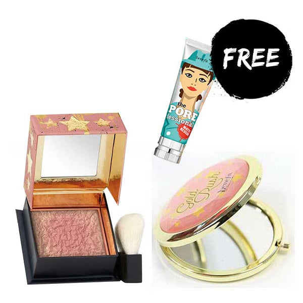 Benefit Gold Rush with FREE Mirror and Porefessional Matte Rescue Funsize