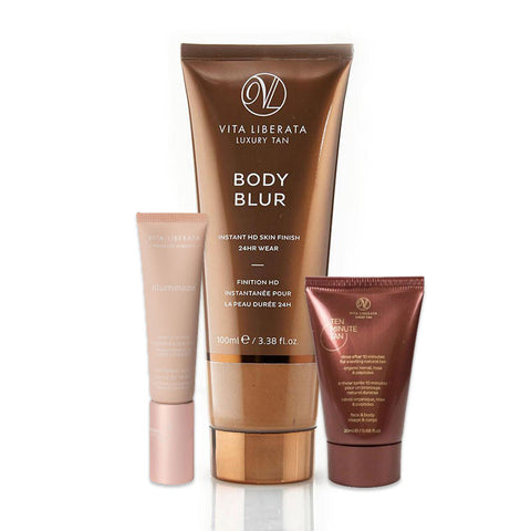 Vita Liberata Body Blur Latte with Free Illuminaze Medium 10ml and Ten Minute Tan 20ml
