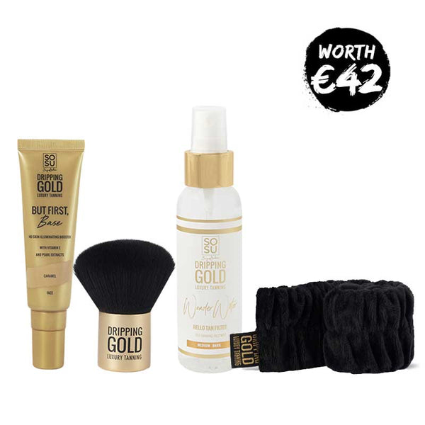 Dripping Gold Face Tan Essentials Kit