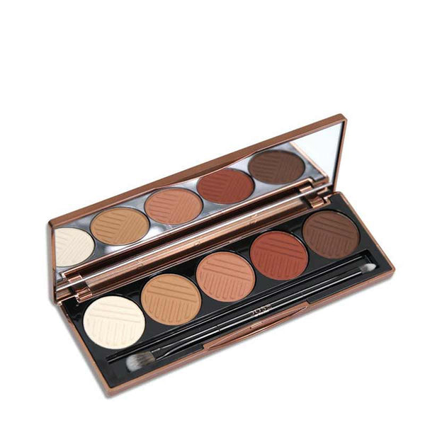 Dose of Colors Eyeshadow Palette - Baked Browns