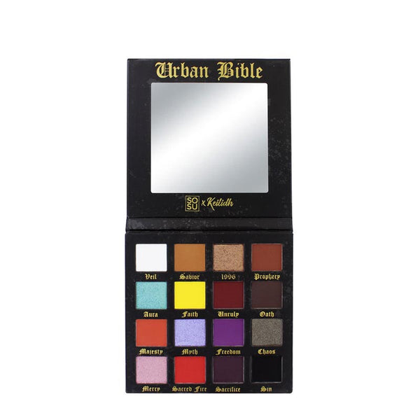 Glow Up Highlighter Palette & Urban Bible Bundle - Black Friday Offer
