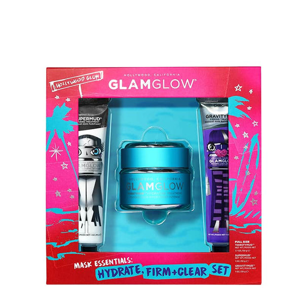 GLAMGLOW Mask Essentials: Hydrate, Firm & Clear | Skincare