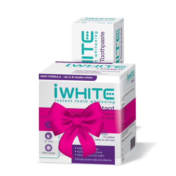 iWhite Professional Teeth Whitening Kit with Free Toothpaste