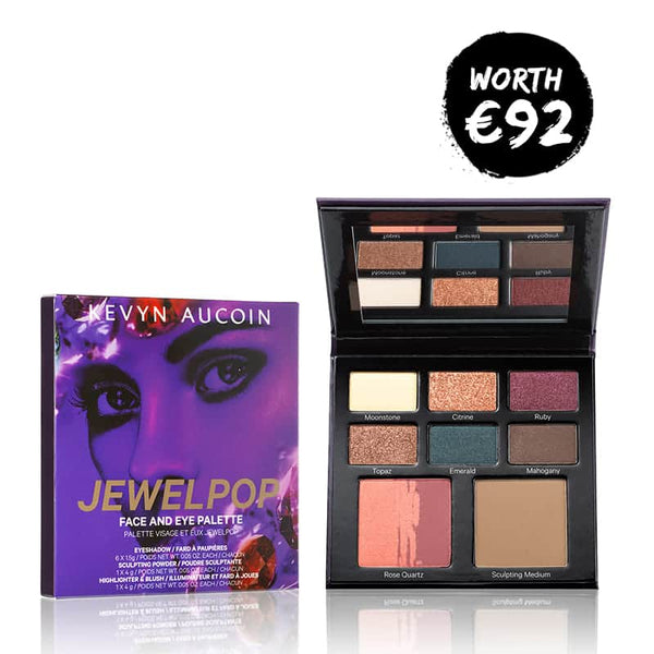 Jewelpop Face & Eye Palette