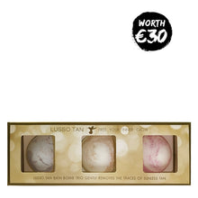 Lusso Tan Remover Bath Bomb Trio | Gift Set | Christmas 2020