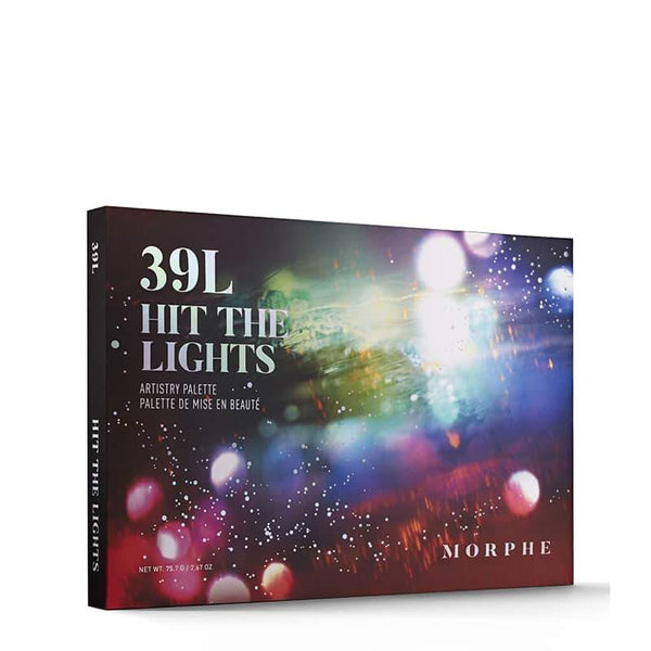 Morphe 39L Hit The Lights Artistry Palette | Morphe Christmas Holiday Collection 2019